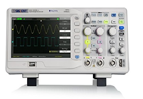 3. Siglent Technologies 50 MHz Digital Storage Oscilloscope