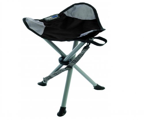 3. TravelChair Slacker Chair, Super Compact, Folding Tripod Camping Stool