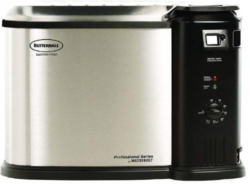 4. Butterball MB23010618 Masterbuilt Fryer, XL, Stainless Steel