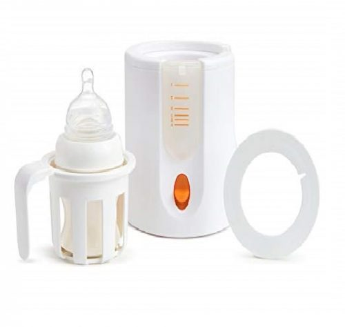 4. Munchkin High Speed Bottle Warmer, Orange/White, 1 Count