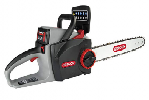 5. Oregon Cordless CS300-A6 Chainsaw Kit with 4.0 Ah Battery and Charger