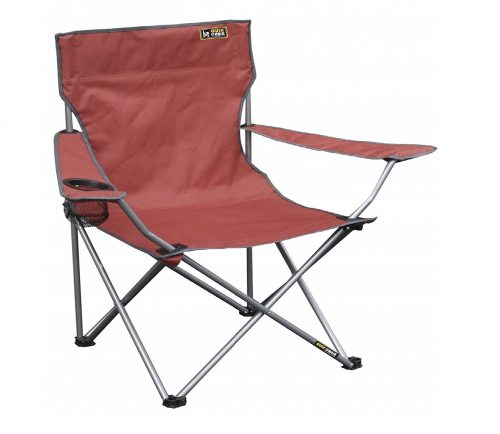 5. Quik Chair Portable Folding Chair with Arm Rest Cup Holder and Carrying and Storage Bag