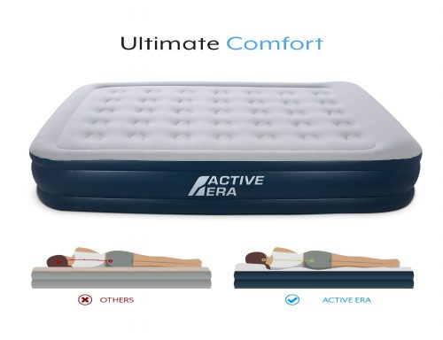7. Active Era Premium Queen Size Air Mattress - Elevated Inflatable Air Bed