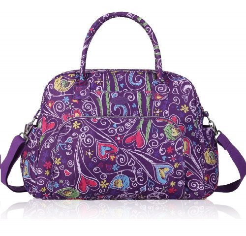 7. Lily & Drew Carry On Weekender Shoulder Bag