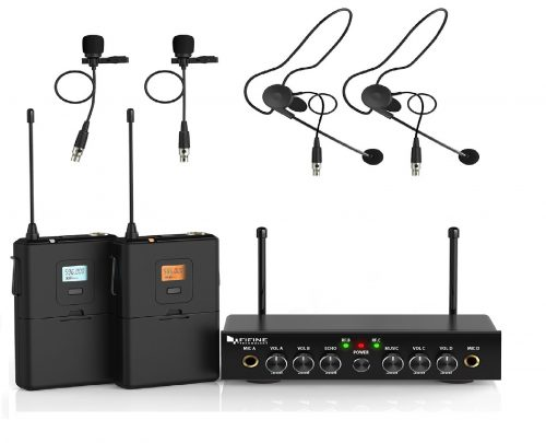 7. Fifine Wireless Microphone System