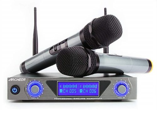 8. ARCHEER UHF Wireless Microphone System