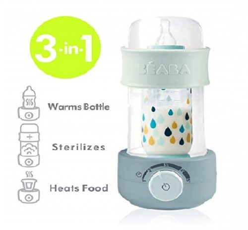 8. BEABA Quick Baby Bottle Warmer, Steam Sterilizer, Baby Food Heater (3-in-1)