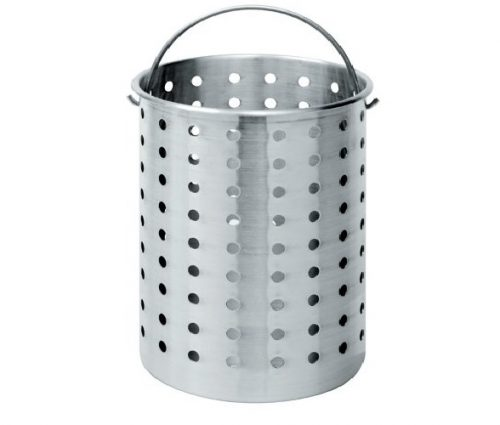 8. Bayou Classic B300 Perforated Steam, Boil, Fry Accessory Basket. Fits 30-Quart Bayou Classic Turkey Fryers