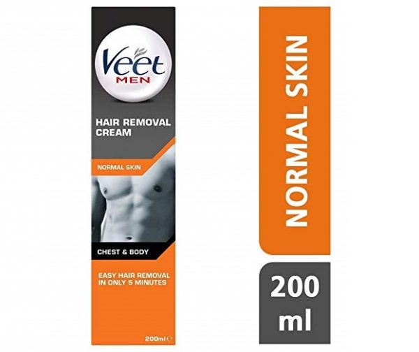 9. Veet Men Hair Removal Cream 200ml Pack Of 3