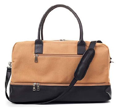 9. MyMealivos Canvas Weekender Bag