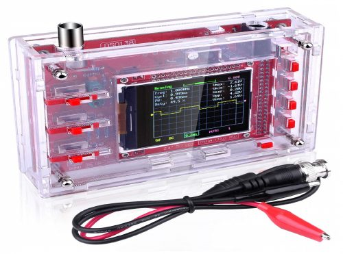 9. Quimat DSO138 Pocket-Size Digital Oscilloscope Kit