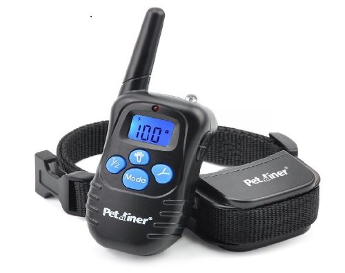 Petrainer-PET998DRB1-Rainproof-Dog-Shock-Collar-with-Remote-Dog-Training-Collar-with-Beep-Vibrate-Shock-Electronic-Collar-300-yd-Remote-Range