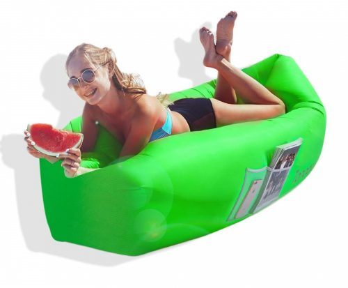 10. Toneeta Inflatable Lounger Air Sofa, Portable Waterproof Inflatable Air Couch Ultra Durable with Side Pocket