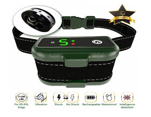 10.TBI-Prochargeable-Bark-Collar-Upgraded-Smart-Detection-Module-wTriple-Stop-Anti-Barking-Modes-BeepVibrationShock-for-Small-Mediu