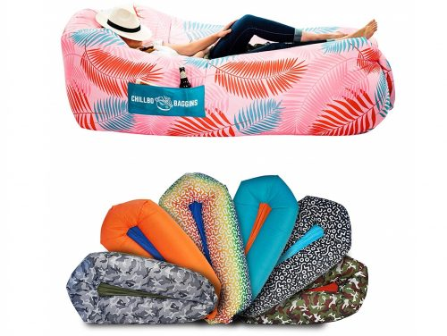 2. CHILLBO SHWAGGINS 2.0 Best Inflatable Lounger Portable Hammock Air Sofa and Camping Chair Ideal Inflatable Couch