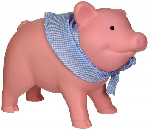 2. Schylling Rubber Piggy Bank