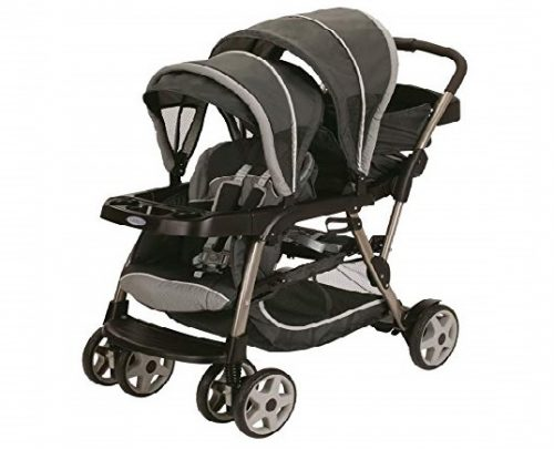 2.Graco-Ready2grow-Click-Connect-LX-Stroller-Glacier