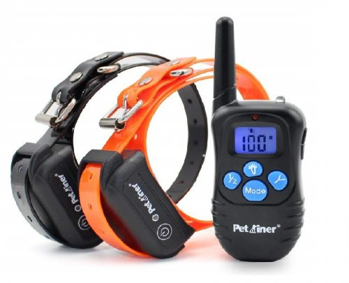 3.Petrainer-PET998DBB2-100-Waterproof-Dog-Shock-Collar-with-Remote-Dog-Training-Collar-with-BeepVibraShock-Electric-E-collar-300yd-Range