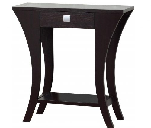 4.Cappuccino-Finish-Console-Sofa-Entry-Table-with-Drawer