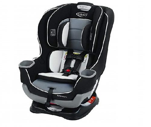 4.Graco-Extend2Fit-Convertible-Car-Seat-Gotham