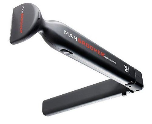 4. MANGROOMER Professional Do-it-yourself Electric Back Hair Shaver