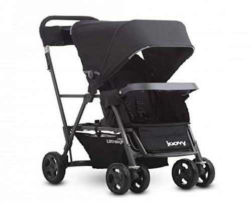 6.Joovy-Caboose-Ultralight-Graphite-Stroller-Black