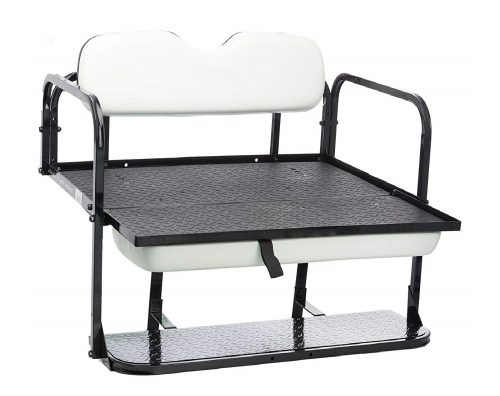 7.Performance-Plus-Carts-EZGO-TXT-Golf-Cart-Rear-Flip-Folding-Back-Seat-Kit-1995-and-Up-All-Factory-Colors-White-Cushions