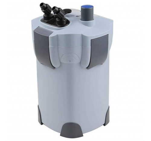 8. Polar Aurora 3-Stage External Canister Filter with 9-watt UV Sterilizer for Aquarium 265 GPH Builtin Pump Kit Canister