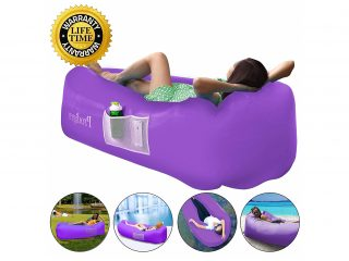 8. Prodigen Inflatable Lounger Chair, Air Sofa Inflatable Couch Outdoor Anti-Air Leaking Waterproof Portable