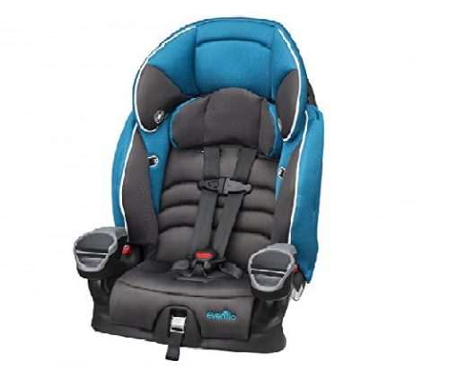 8.Evenflo-Maestro-Booster-Car-Seat-Thunder