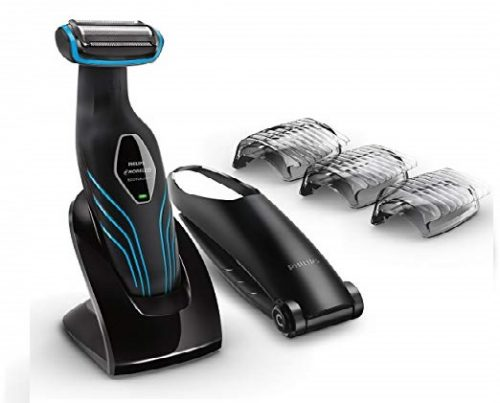 8. Philips Norelco Bodygroom Series 3100, Shave and trim with back attachment, BG2034