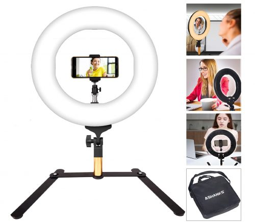 9.ASHANKS-LED-Ring-Light-Camera-Photo-Flashes-14inch-Video-Macro-Ring-Light-336-LED-MSD-2800K-5500K-Ring-Light-Dimmable-Fluorescent-Flash-Lighting-Kit-for...-e1550589111969