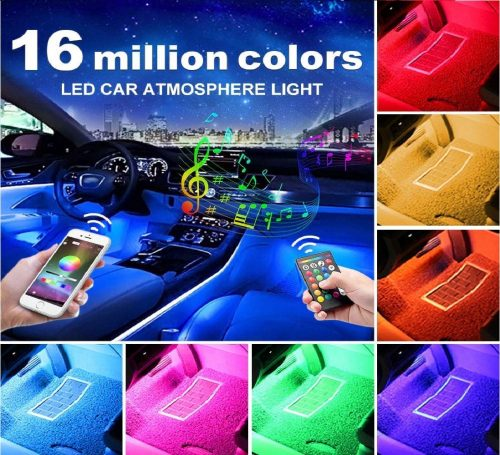 9.Car-LED-Strip-Lights-AUXITO-Multi-coloured-Music-Car-Interior-Lights-Under-Dash-Lighting-Kit-RF-Remote-with-16-Fix-Colors-and-APP-Control-Sound-Active.