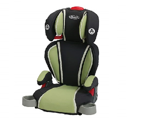 9.Graco-Highback-Turbobooster-Car-Seat-Go-Green