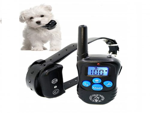 9.Puss-and-Pooch-Dog-Training-Collar-Dog-Remote-Training-Collar-300-Meter-Range-Static-Shock-Collar-wHumane-Vibration-Beep-Option