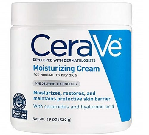 1. CeraVe Moisturizing Cream