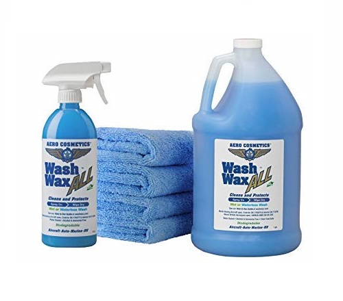 Wet-or-Waterless-Car-Wash-Wax-Kit-144-oz.-Aircraft-Quality-for-your-Car-RV-Boat-Motorcycle.-Guaranteed-the-Best-Wash-Wax.-Anywhere-Anytime-Home-Office