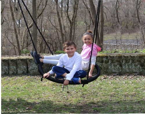 2.M-M-Sales-Enterprises-Web-Riderz-Outdoor-Swing-N-Spin-Safety-rated-to-600-lb-39-inch-diameter-Adjustable-hanging-ropes-Ready-to-hang-and-enjoy-as-a.