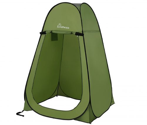 2.WolfWise-Pop-up-Shower-Tent-Green