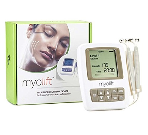 3. Microcurrent Face Lift Machine - 7E Myolift Professional microcurrent device for face lifting, skin tightening, and Non Surgical Face Lift
