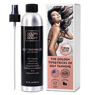 3. Self Tanner - Sunless Tanning Oil, Organic Spray Tan