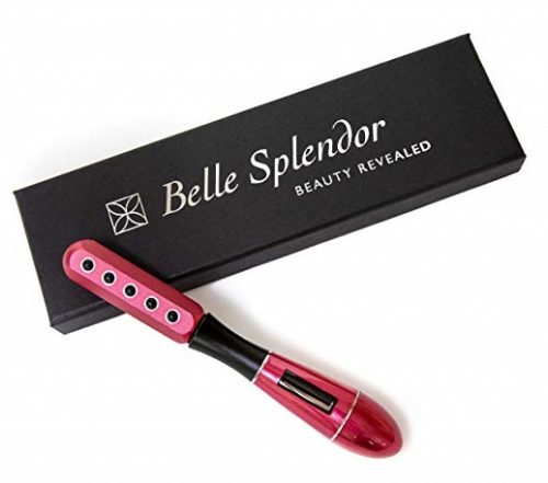 7. Beauty Roller For Face Uplift And Massage by Belle Splendor – Red Wand Tool With Solar Microcurrent For Firming and Tightening Skin