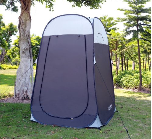 7.Leader-Accessories-Pop-Up-Shower-Tent-Dressing-Changing-Tent-Pod-Toilet-Tent-4-x-4-x-78H-Big-Size-1Grey