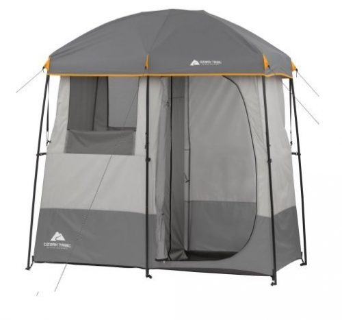 9.2-Room-Non-Instant-Shower-Tent-with-5-Gallon-Solar-Heated-Shower-and-Removable-Rainfly.