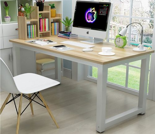 OHANA Laptop Solid Wood Computer Table PC Desk, Best Modern Computer Desk