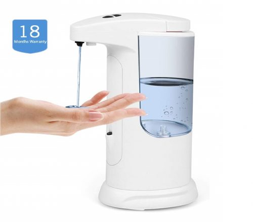 14.LARMHOI-Touchless-Soap-Dispenser-370ml-Automatic-Liquid-Dispenser-with-3-Adjustable-Dispensing-Volume-IP65-Waterproof-Anti-Leakage-Touchless-Soap