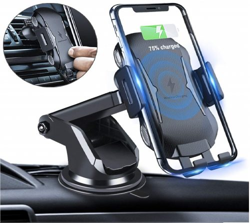 2.Homder-Automatic-Clamping-Wireless-Car-Charger-Mount-10W-7.5W-Qi-Fast-Charging-Car-Phone-HolderWindshield-Dashboard-Air-Vent-Compatible-with-iPhone