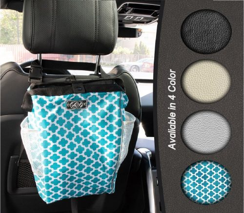 3.The-Keep-it-Clean-CarBage-Auto-Trash-Can-Auto-Litter-Bag-Auto-Garbage-Bin-Car-Trash-Pail-Great-for-Cars-Boats-RVs-Teal