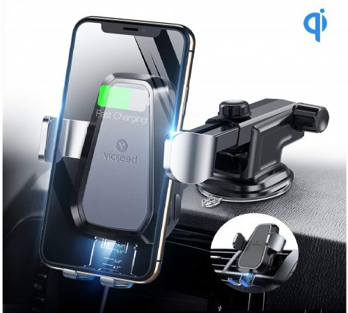 3.VICSEED-Wireless-Car-Charger10W-Fast-Charging-Wireless-Charging-Car-Mount-Auto-Clamping-Dashboard-Vent-Phone-Holder-Compatible-with-iPhone-Xs-Max-XR-X