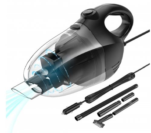 5.Nulaxy-Car-Vacuum-Cleaner-High-Power-Strong-Suction-Vacuum-Cleaner-Portable-Lightweight-Wet-Dry-Vacuum-with-16.4-Ft-Cord-and-Nozzles-Set-for-Car-Cleaning